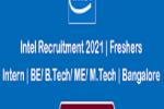 Intel Recruitment 2021