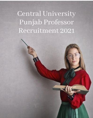Central University Professor Recruitment