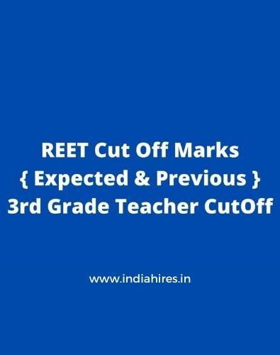REET Cut Off Marks