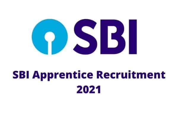 SBI Apprentice Recruitment 2021 1