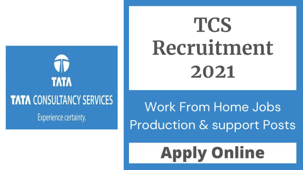 TCS Recruitment 2021 1