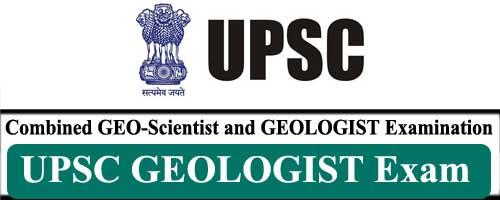 UPSC GEOLOGIST Exam 2021 1