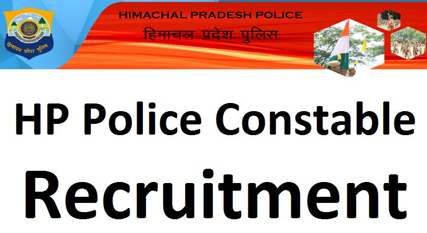 HP Police constable recruitment 1